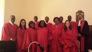Choir Easter Service